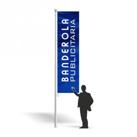 Banderola publicitaria 80 x 150 cm.