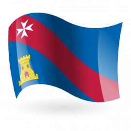 Bandera de Binéfar