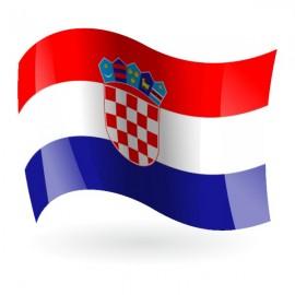 Bandera de Croacia