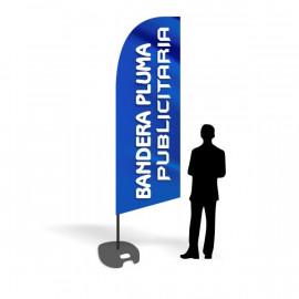 Bandera Pluma personalizada / publicitaria