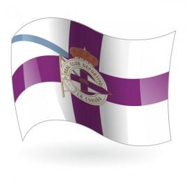 Bandera del Real Club Deportivo de La Coruña mod. 2