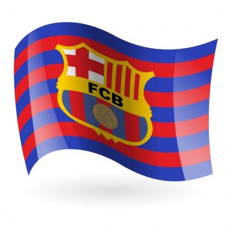 Bandera del FC Barcelona mod. 1