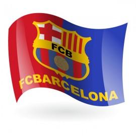 Bandera del FC Barcelona mod. 2