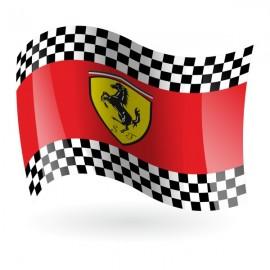 Bandera de Ferrari mod. 2
