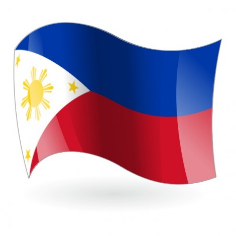Bandera de la República de Filipinas