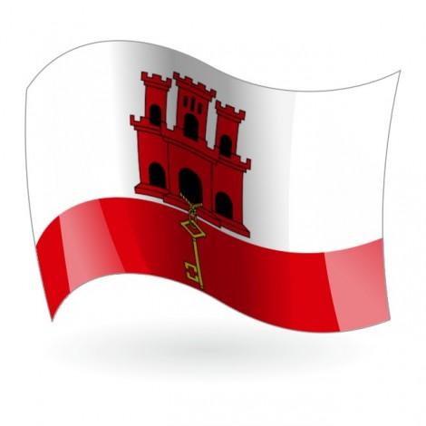 Bandera de Gibraltar
