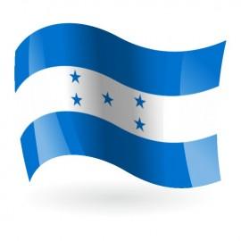 Bandera de la República de Honduras