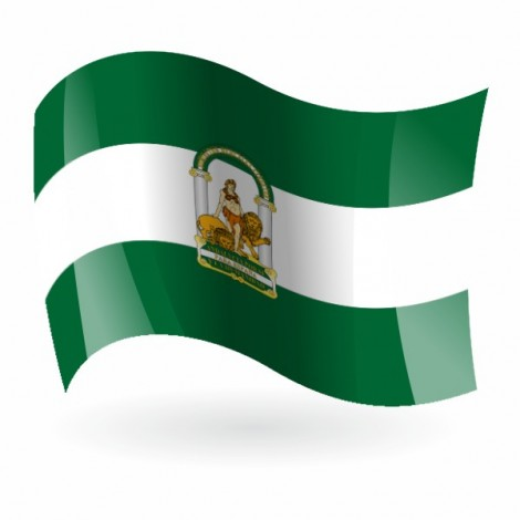 Bandera de Andalucia c/e