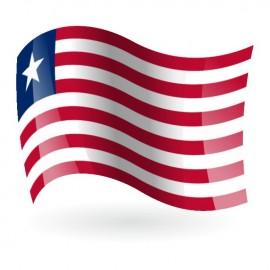 Bandera de la República de Liberia