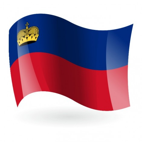 Bandera del Principado de Liechtenstein