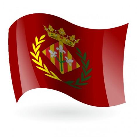 Bandera de Lleida ( Lérida )