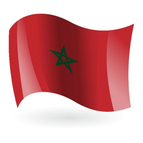 Bandera del Reino de Marruecos