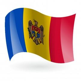 Bandera de la República de Moldavia