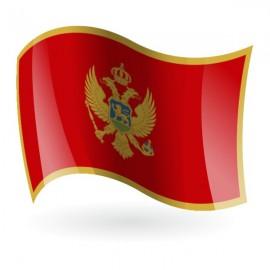 Bandera de la República de Montenegro