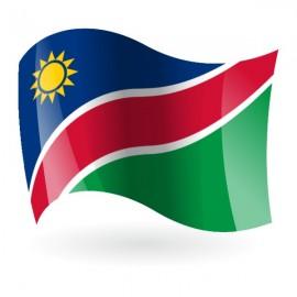 Bandera de la República de Namibia