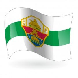 Bandera del Elche Club de Fútbol mod. 1