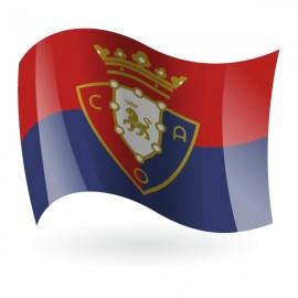 Bandera del Club Atlético Osasuna mod. 1