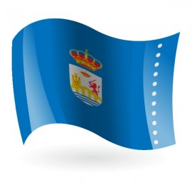 Bandera de Ourense ( Orense )