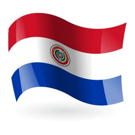 Bandera de la República del Paraguay