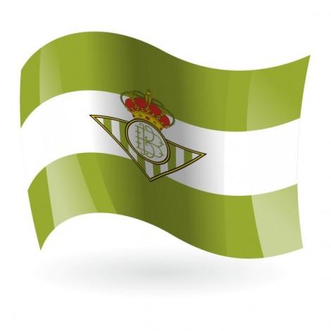 Bandera del Real Betis Balompié mod. 1