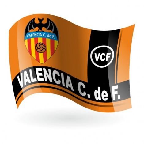 Bandera del Valencia Club de Fútbol mod. 2