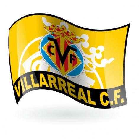 Bandera del Villarreal Club de Fútbol Mod. 2