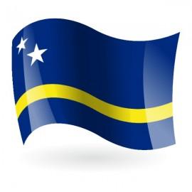 Bandera del País de Curazao