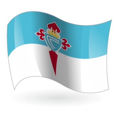 Bandera del  Real Club Celta de Vigo mod. 1