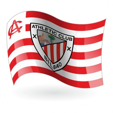 Bandera del Athletic Club de Bilbao mod. 1