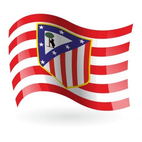 Bandera de Club Atlético de Madrid mod.1