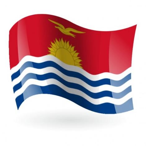Bandera de la República de Kiribati