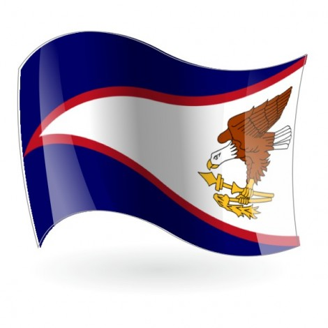 Bandera de Samoa Americana ( Oriental )