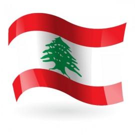 Bandera de la República del Líbano