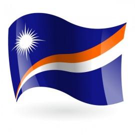 Bandera de la República de las Islas Marshall