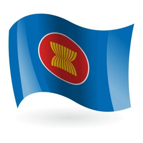 Bandera de la Asociación de Naciones del Sudeste Asiático ( ASEAN )